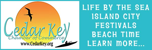 Cedar Key Chamber Of Commerce Ad In HardisonInk.com 2019